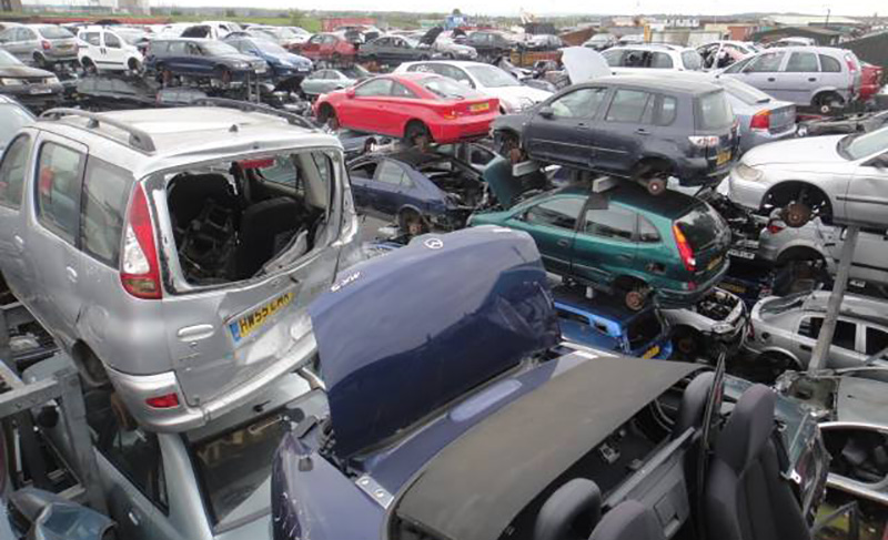 We buy scrap cars in London and the Home Counties